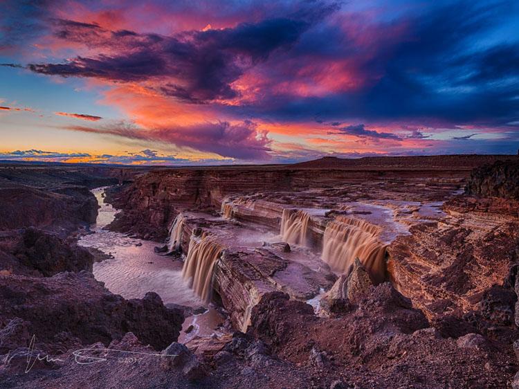 Twilight-at-Grand-Falls-Arizona_by_Jim_Peterson