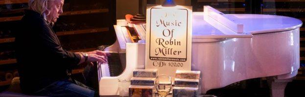 Pianist Robin Miller