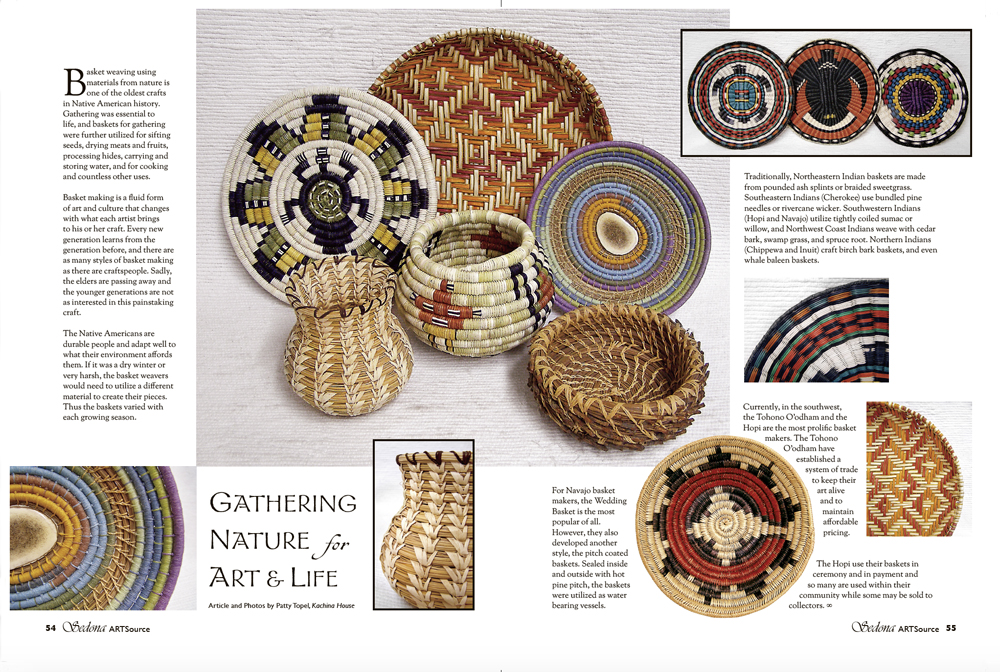 Gathering Nature for Art and Life Sedona Art Source Volume 4