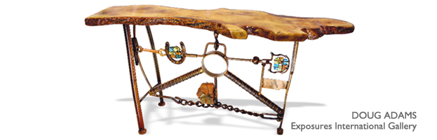 Doug Adams furniture - Sedona Art Source Voume 5