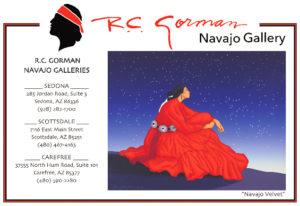 RC Gorman Gallery Sedona Art Source